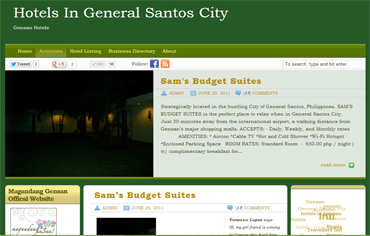 Hotels in Gensan